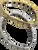 Quantum Titanium 20 Germanium Ball bracelets in silver tone or with gold trim at Go Healthy Next