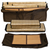 Convertible sauna tent travel bag for tent panels and bamboo mats