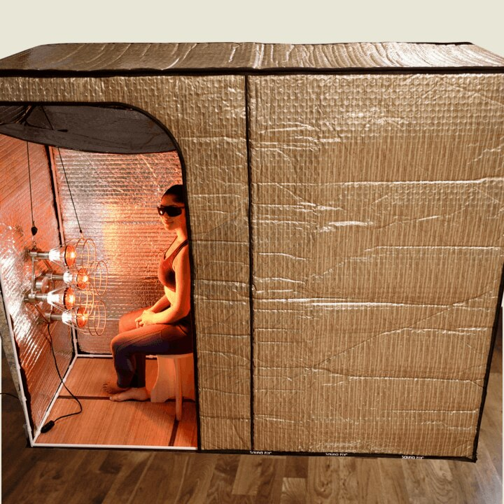 Sauna with the Hot Yoga Exercise Tent