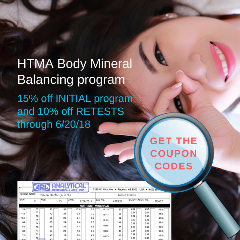See INITIAL Body Mineral Balancing Program and HTMA Retest sale valid through June 20, 2018
