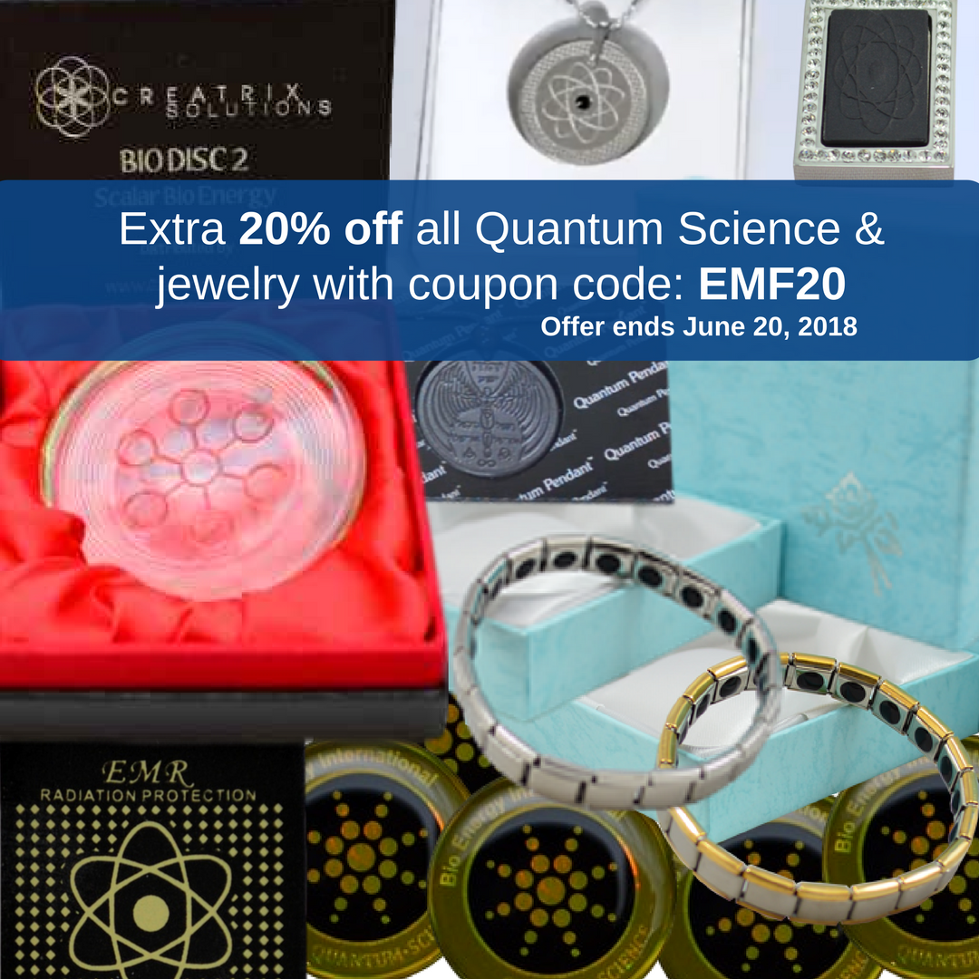 Quantum Science and jewelry sale at Go Healthy Next