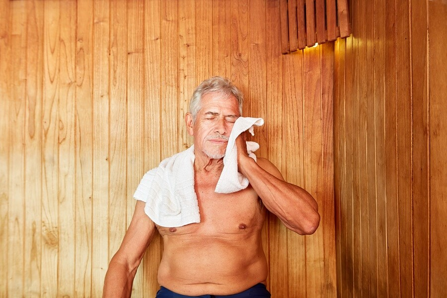 Sweating in the Sauna