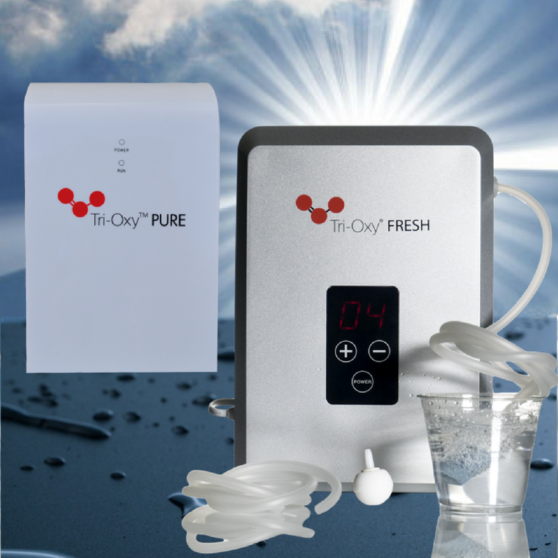 Tri-oxy ozone generators and ozone systems