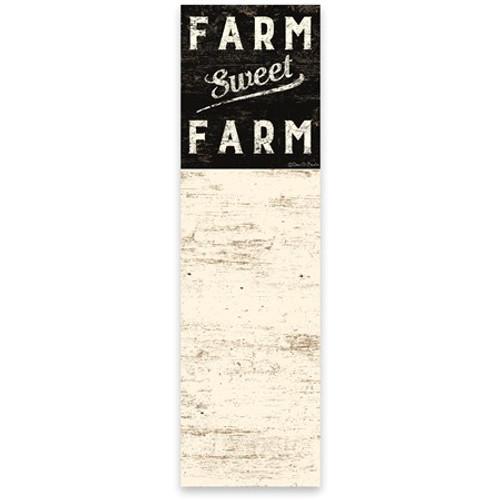 Magnetic List Notepad - Farm Sweet Farm