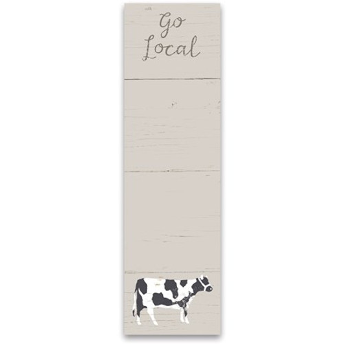 Magnetic List Notepad - Go Local