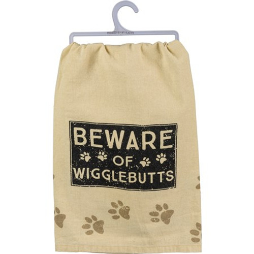Dish Towel - Beware Of Wigglebutts