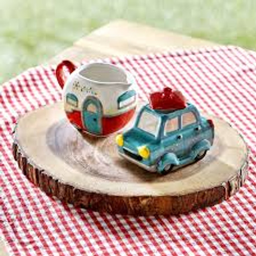 Camper Sugar and Creamer Set