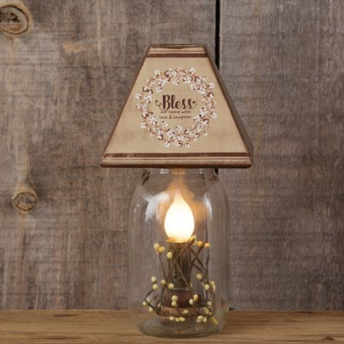 Electric Jar Light - Bless Our Home
