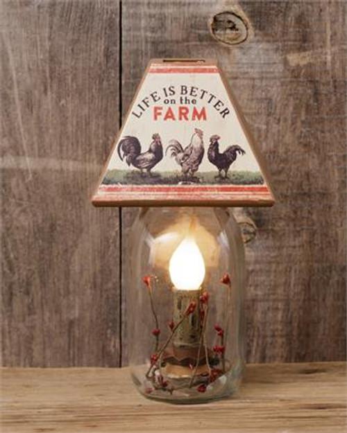 Farm Life - Electric Jar Light