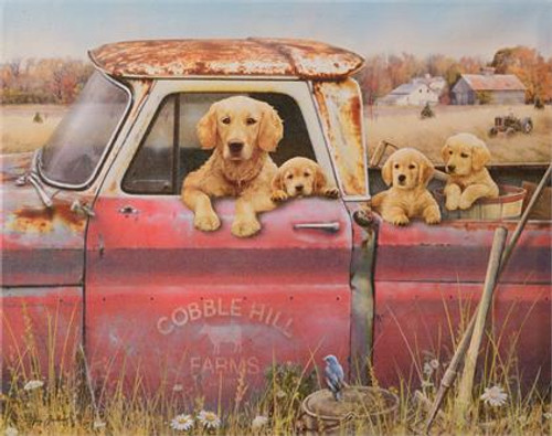 Canvas Print - Cobble Hill Farms, Dogs