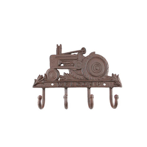 TRACTOR KEY RACK Cast Iron