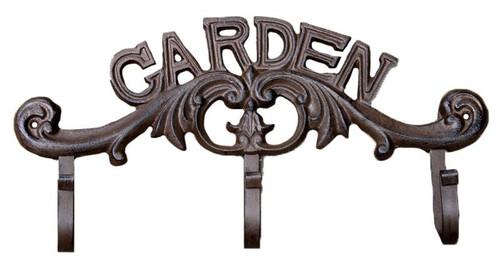 Garden 3 Hooks Cast Iron