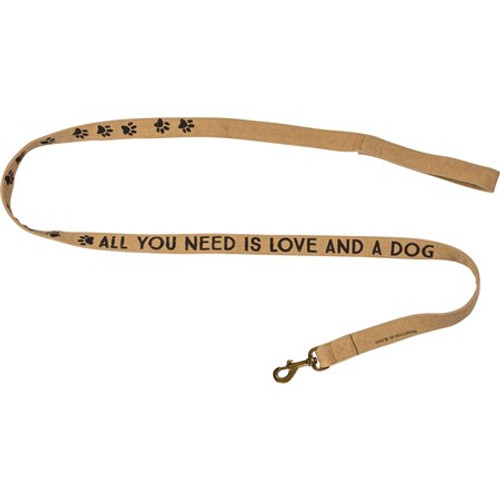 Dog Leash - All You Need Is Love And A Dog