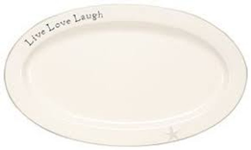 Live Love Laugh Large Platter