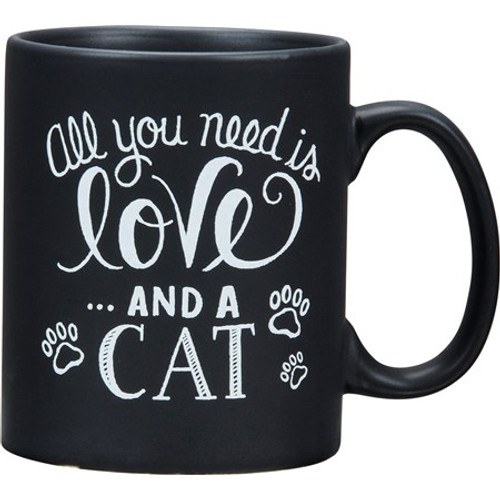 Mug - All You Need Is Love And A Cat 20oz