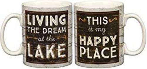 Mug-Living Dream at the Lake 20oz