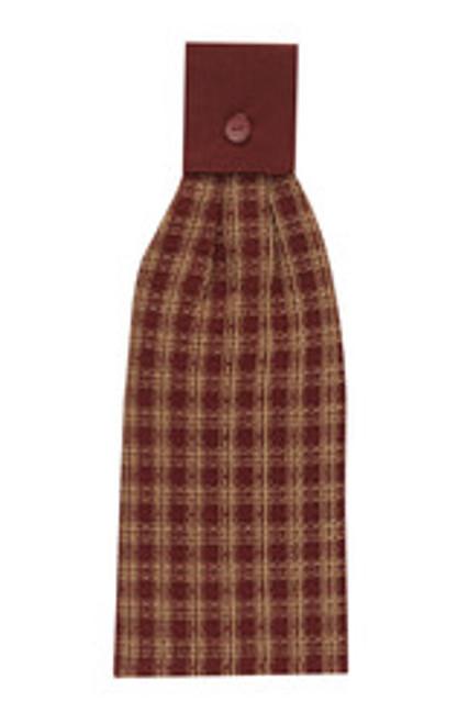 STURBRIDGE HAND TOWEL - WINE