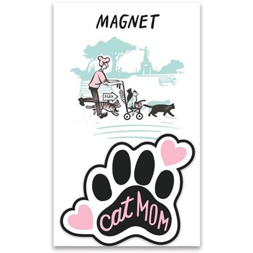 Magnet - Cat Mom