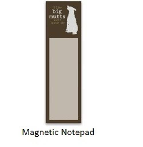 Magnetic List Pad-I like Big Mutts