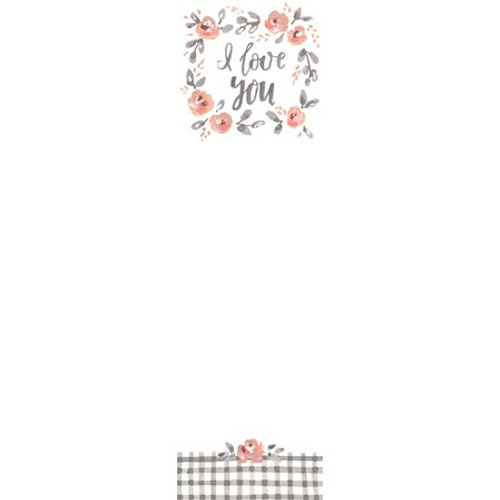 Magnetic List Notepad - I Love You