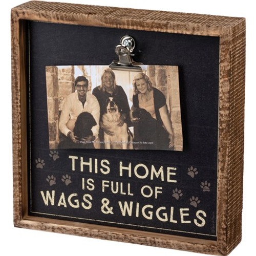 Inset Box Frame - Home Full Of Wags & Wiggles