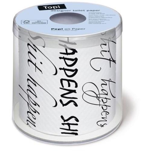 Shit Happens - Designer Toilet Paper
