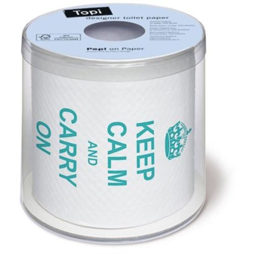 Keep Calm - Designer Toilet Paper