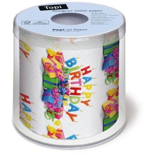 Happy B'day - Designer Toilet Paper