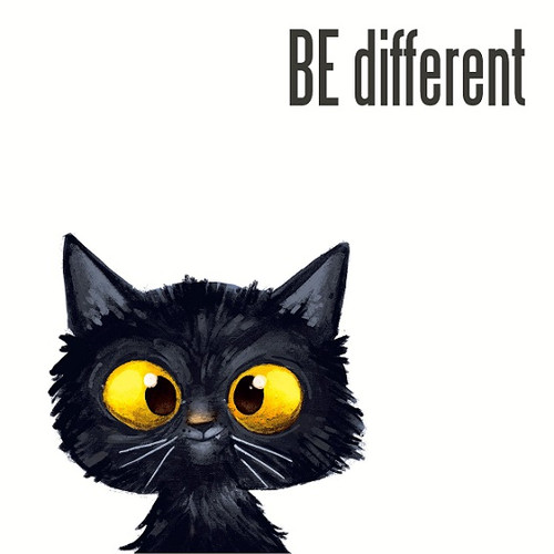 Be different - Luncheon Napkin