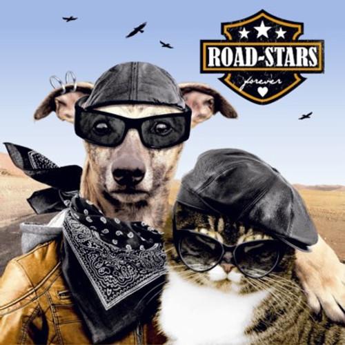 Road-stars - Luncheon Napkin