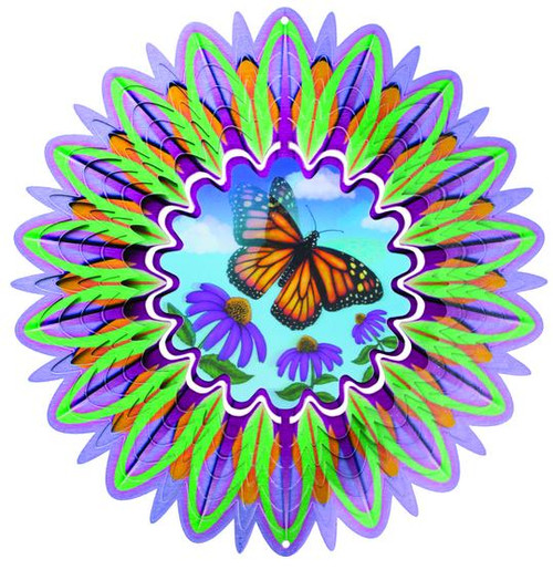 """Wind Spinner BUTTERFLY 12"""" ANIMATED COLLECTION"""