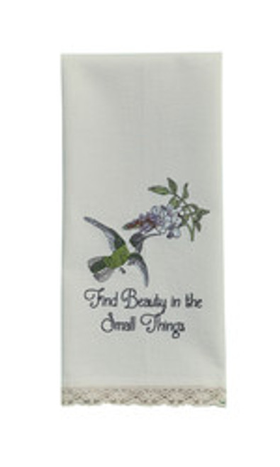 BEAUTY EMBROIDERED DISHTOWEL