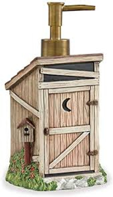 Outhouse Resin Soap Lotion Dispenser