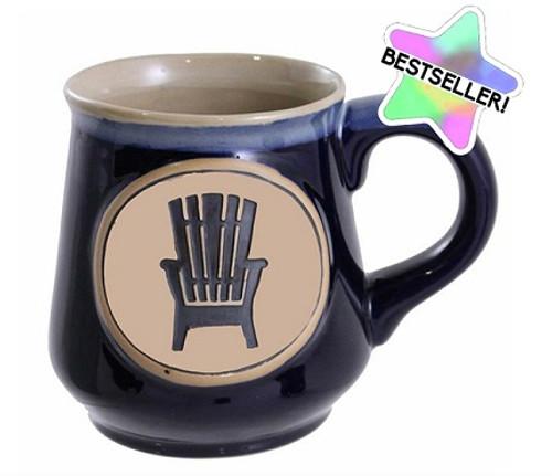 Mug Adirondack Chair Blue 18oz