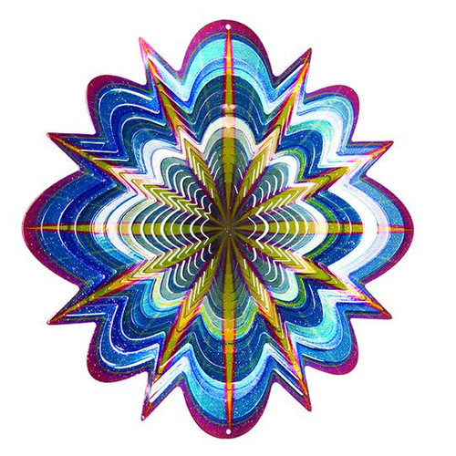 "Wind Spinner- Arctic Splash Vivid Collection LARGE 12.2"""