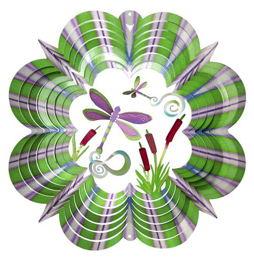 """Wind Spinner 3D Dragonfly Large 12"""""""