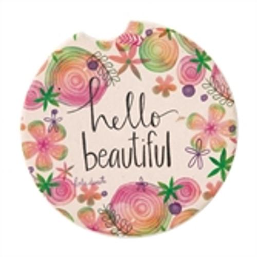 Car Coaster - Hello Beautiful