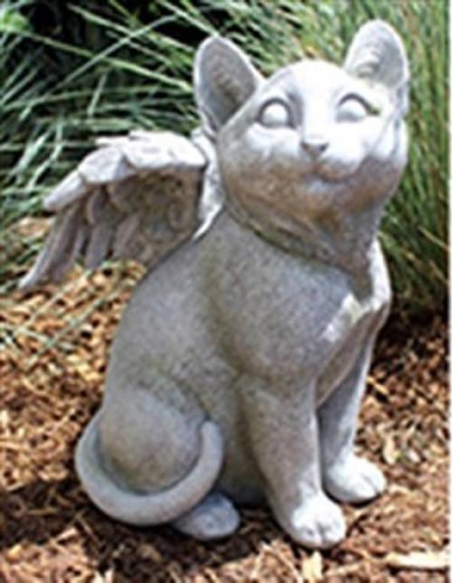 Cat w/wings memorial