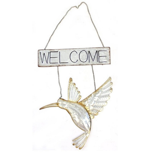 Welcome Hummingbird - Metal