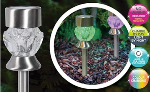 Solar Color Changing Stake Lights