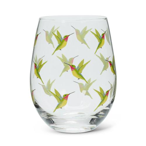 Hummingbird Stemless Glass 14oz