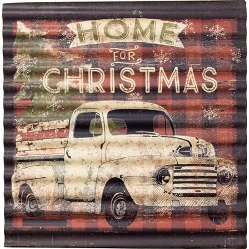 Wall Decor - Home For Christmas