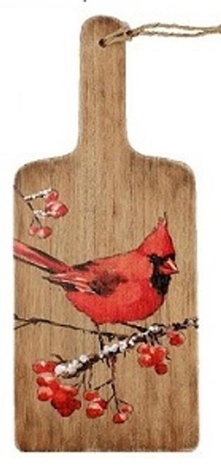 Cardinal Decorative Board Wood Plaque