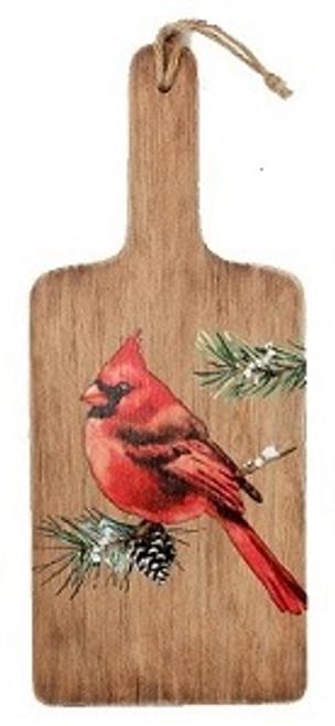 Cardinal Decorative Board Wood Plaque-B