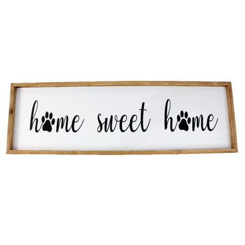 HOME SWEET HOME PET PLAQUE