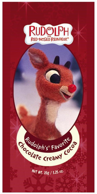 RUDOLPH'S FAVORITE CHOCOLATE COCOA PACKET