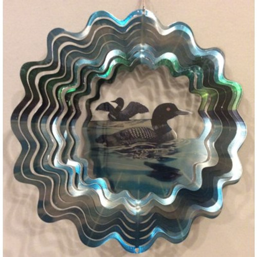 """Wind Spinner Loon Vivid Collection 12"""""""