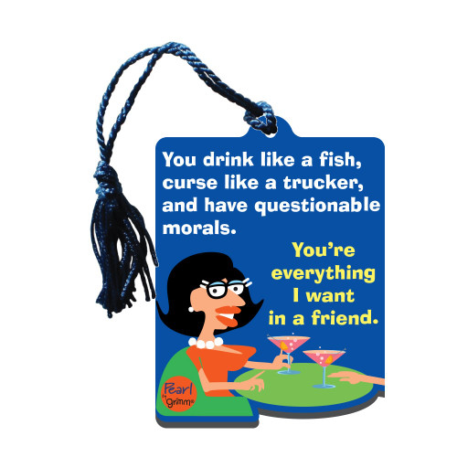 Bottle Gift Tag - Drink Like a Fish