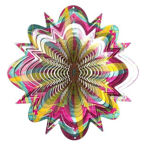 """Wind Spinner-Vivid Collection FLORAL SPLASH 12"""""""