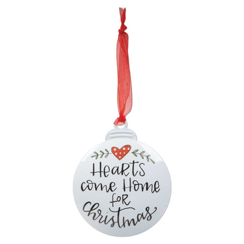 """""""Home For Christmas"""" Personalizable Ornament"""
